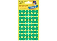 Avery Marking Labels, Dot 12mm Green, 270/pack