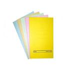Alpha Square Cut Folder F/S, Light Blue