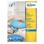 Avery Full Face CD Labels, 2labels/sheet, 10sheets/pack