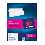 Avery L7164 Address Labels White, 100sheets/pack