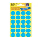 Avery Marking Labels, Dot 18mm Blue, 96/pack