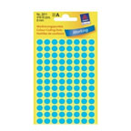 Avery Marking Labels, Dot 8mm Blue, 416/pack