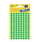 Avery Marking Labels, Dot 8mm Green, 416/pack