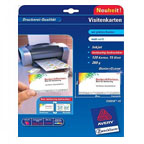 Avery Quick & Clean Business Card Inkjet, Double Sided 260gsm
