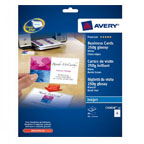 Avery Quick & Clean Business Card Inkjet, Glossy 250gsm