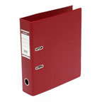 Bantex PVC Box File F/S, Broad Maroon