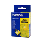 Brother LC47 Yellow Ink Cartridge - LC47YW