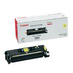 Canon 701 Yellow Toner Cartridge- ( 701Y)