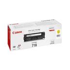 Canon 718 Yellow Toner Cartridge - 2659B002