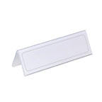 Durable Table Place Name Holder, 105/210 x 297 mm, Transparent