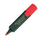 Faber Castell High Lighter Red, 10/pkt