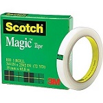 Scotch Magic Tape 3/4' x 72yrds