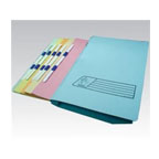 Premier Flat File with Plastic Bar, Green
