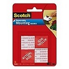 3M Scotch Mounting Square Tape1'x1'